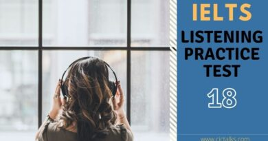IELTS Listening practice test 2021 with answers [TEST 18]